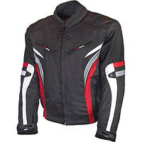 Adrenaline SOLA Black/Red Мотокуртка текстильная, XS