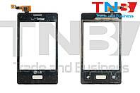 Сенсор LG E400 Optimus L3 Черный ОРИГИНАЛ