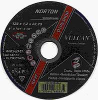 Отрезной круг  Norton Vulcan 125 x 1,2 x 22