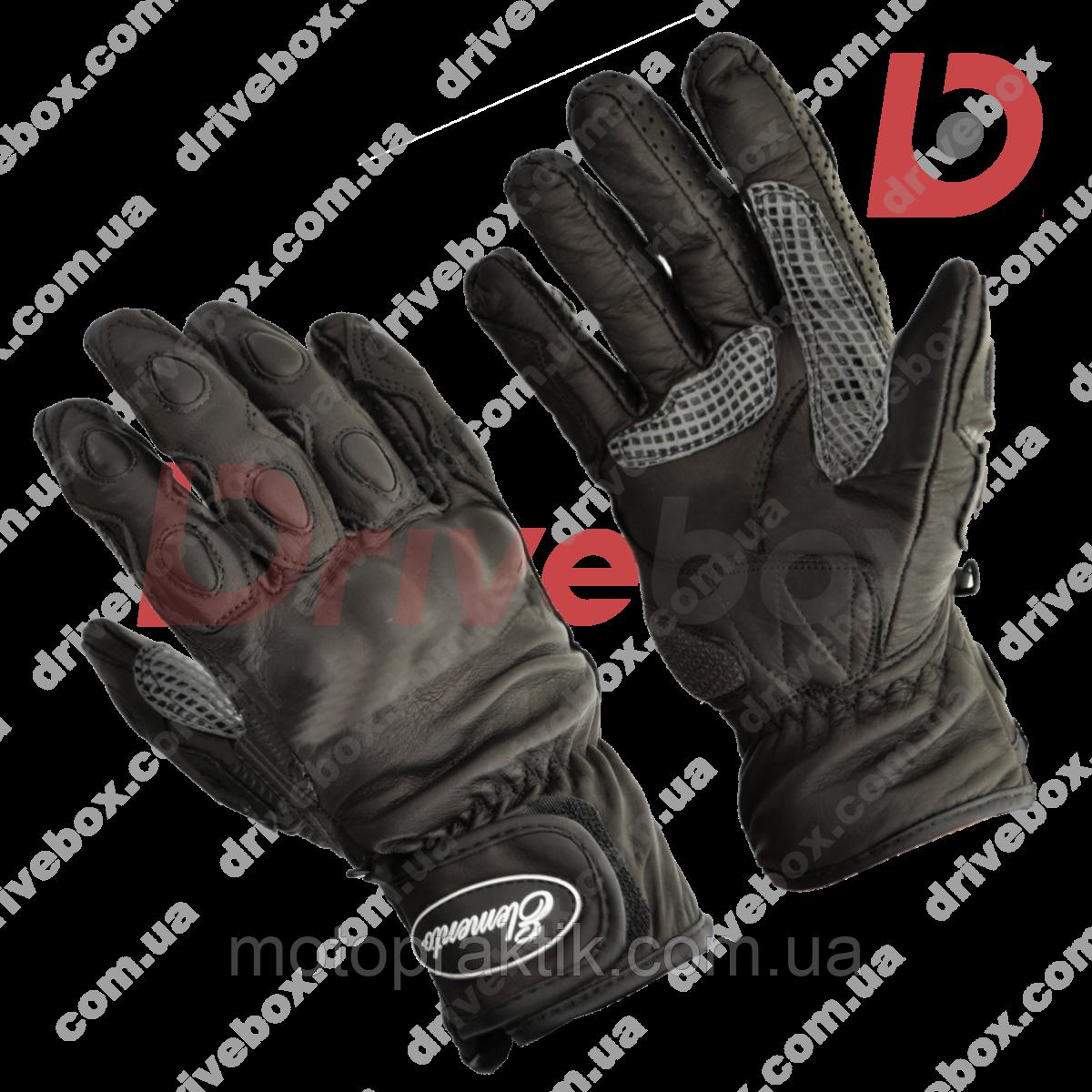 Elemento 175 Road Gloves Black, L Мотоперчатки дорожні