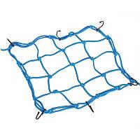 Мотосетка багажная (паук) Pro-Biker, 30x30 см, Цвет Синий
