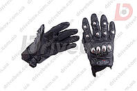 AXE RACING (Mod:2) Цвет Черный, M Мото перчатки кожаные с защитой