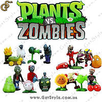 Фигурки Plants vs. Zombies - 20 шт. (коллекционные модели)