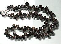 Ожерелье из раухтопаза