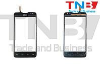 Сенсор LG D285 Optimus L65 Dual SIM Черный ОРИГ