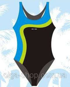 Купальник спортивный женский закрытый Sesto Senso BW 728 (купальники женские спортивные)