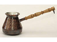 Турка 350мл TUR2, купить турку для кофе в украине, турки для кофе набор, турки, турка купить, трку медную200мл