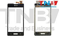 Сенсор LG E460 Optimus L5 Черный ОРИГИНАЛ