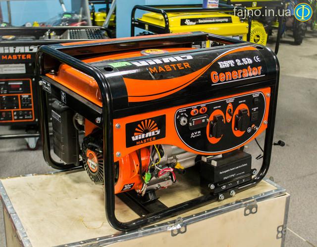 Бензиновый генератор Vitals EST 2.5B фото 1