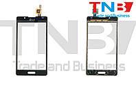Сенсор LG P710 Optimus L7 II Черный ОРИГИНАЛ