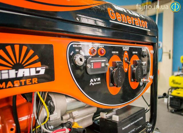 Бензиновый генератор Vitals EST 2.5B фото 2