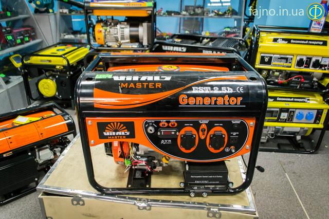 Бензиновый генератор Vitals EST 2.5B фото 11