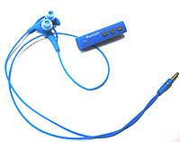 Беспроводные стерео наушники STN-700 (Bluetooth + микрофон + регулятор громкости),Blue, фото 1