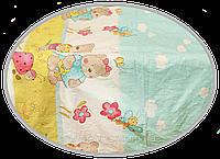 """Пододеяльник для детского одеяла в кроватку """"Мишка садовод"""" 145х105 см, ТМ Ромашка"""