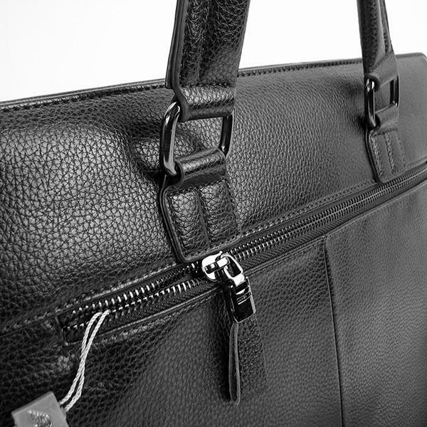 01d94b0c7b3e Портфель-сумка кожзам мужской черный Giorgio Armani 6618-3- купить ...