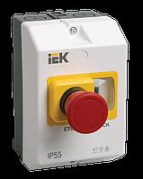 """Защитная оболочка с кнопкой """"Стоп"""" IP55 IEK"""