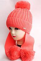 Новое поступление детских зимних шапок.