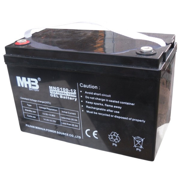 Гелевий акумулятор MHB Battery MNG100-12