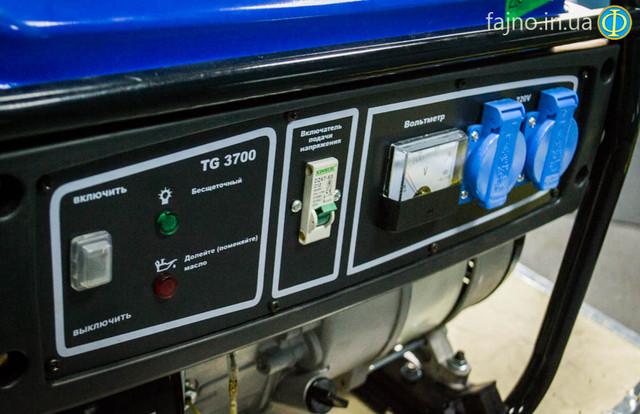Бензиновый бесщеточный генератор Tiger 3700 фото 2