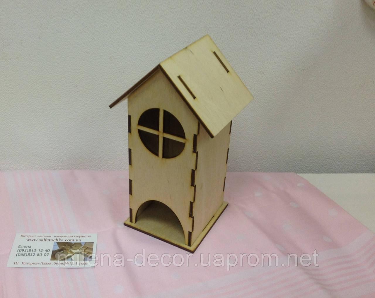 Заготовка  Чайный домик  с окошком
