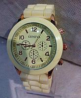 Женские часы наручные Geneva Jelly Watch Cream 029
