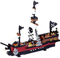 Конструктор KAWADA Пиратский корабль (NBM-011)