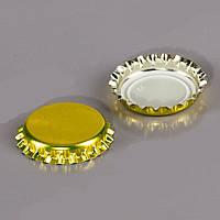 Кронен крышка 50 шт. золотая