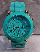 Женские часы наручные Geneva Jelly Watch Mint Green 030