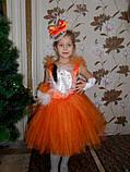 Шикарный  шикарной костюм лисы, Лиса -Алиса прокат, фото 2