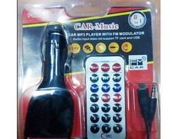 FM Трансмиттер Модулятор MOD CM A3 для Авто с зарядным для телефона и аукс выходом