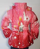 Курточка холодная осень-весна р.110