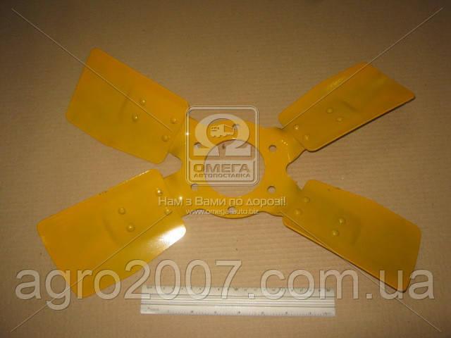 Вентилятор системы охлаждения МТЗ металл (4 лопаст.)