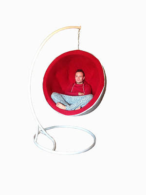 "Кресло ""Ball Chair мягкое""."