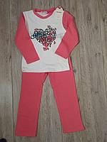 Пижама на байке для девочки р.3-4. 6-7 Happy hause
