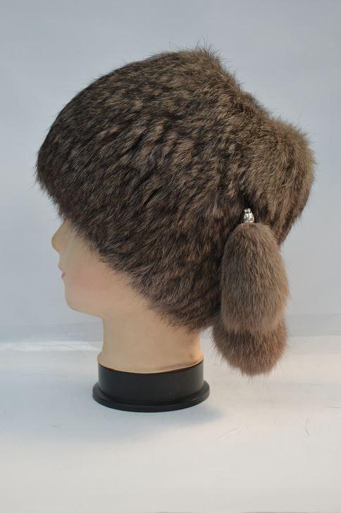 Зимняя меховая шапка кубанка