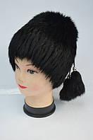 Зимняя женская шапка из натурального меха