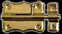 """Шпингалет 100мм, d 7мм """"Gold"""" TECHNICS"""