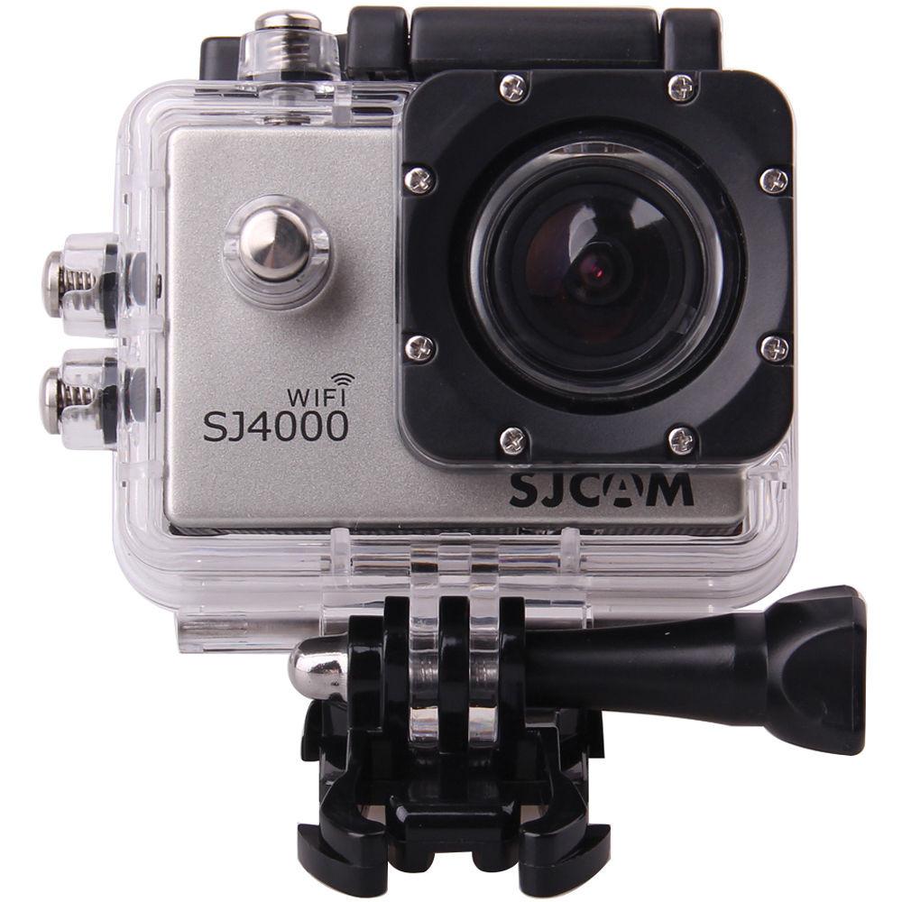 Екшн-Камера SJCam SJ4000 WiFi Silver *