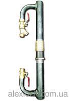 Байпас с обратным латунным клапаном DN 40 длинный