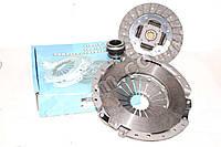 Сцепление Газель,Волга двигатель 406 (диск нажимной, ведомый, подшипник) (производство LSA)