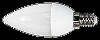 Светодиодная лампа 3Вт E14 свеча 240lm 180º 220В 6500K