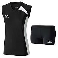 Волейбольная форма MIZUNO (футболка W Trad Sleeveless V2GA6C21-09+шорты  W Trad Tights V2GB6D61-09)