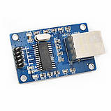 Мини сетевой модуль ENC28J60 Ethernet LAN для Arduino 51 AVR ARM PIC SPI STM32 LPC MCU, фото 5