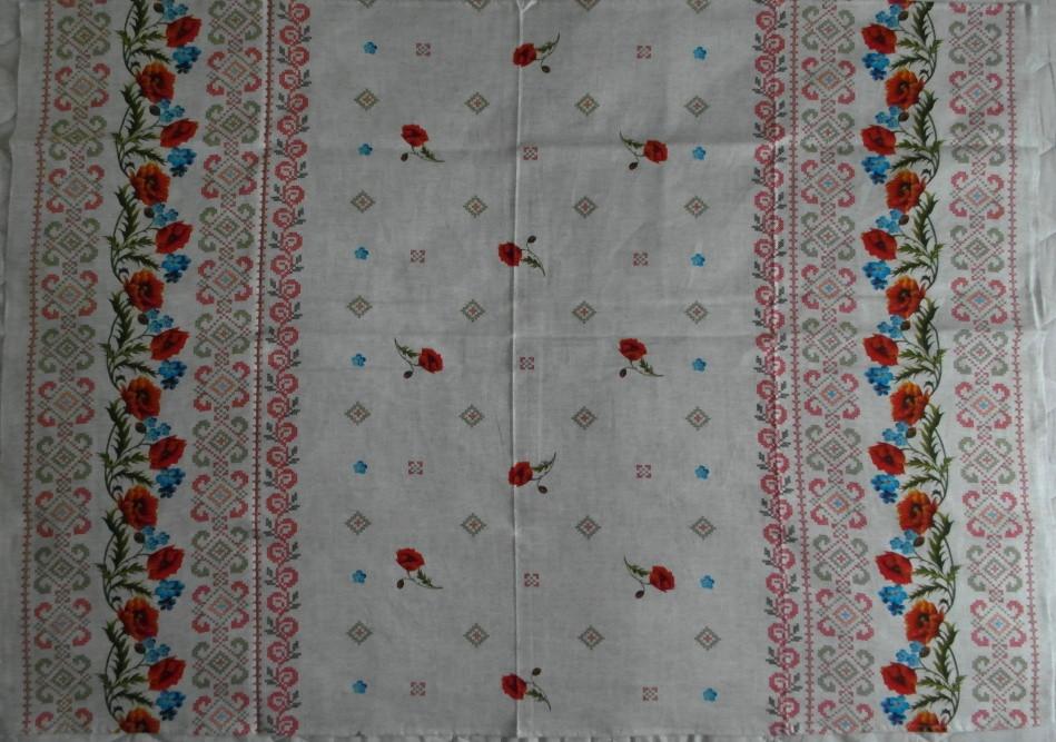 Льняная скатерть 180 x 150 размер