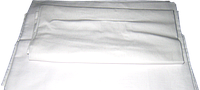 Пододеяльник белый 145х210 см, бязь