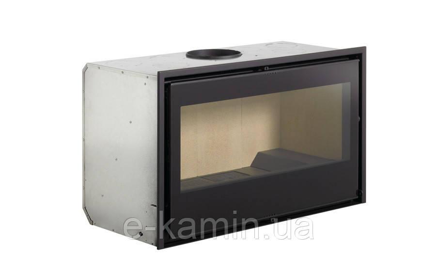 Топка для камина  LL- Calor Argo-80 c чугунным вкладышем + вент. набор