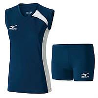 Волейбольная форма MIZUNO (футболка W Trad Sleeveless V2GA6C21-14+шорты  W Trad Tights V2GB6D61-14)