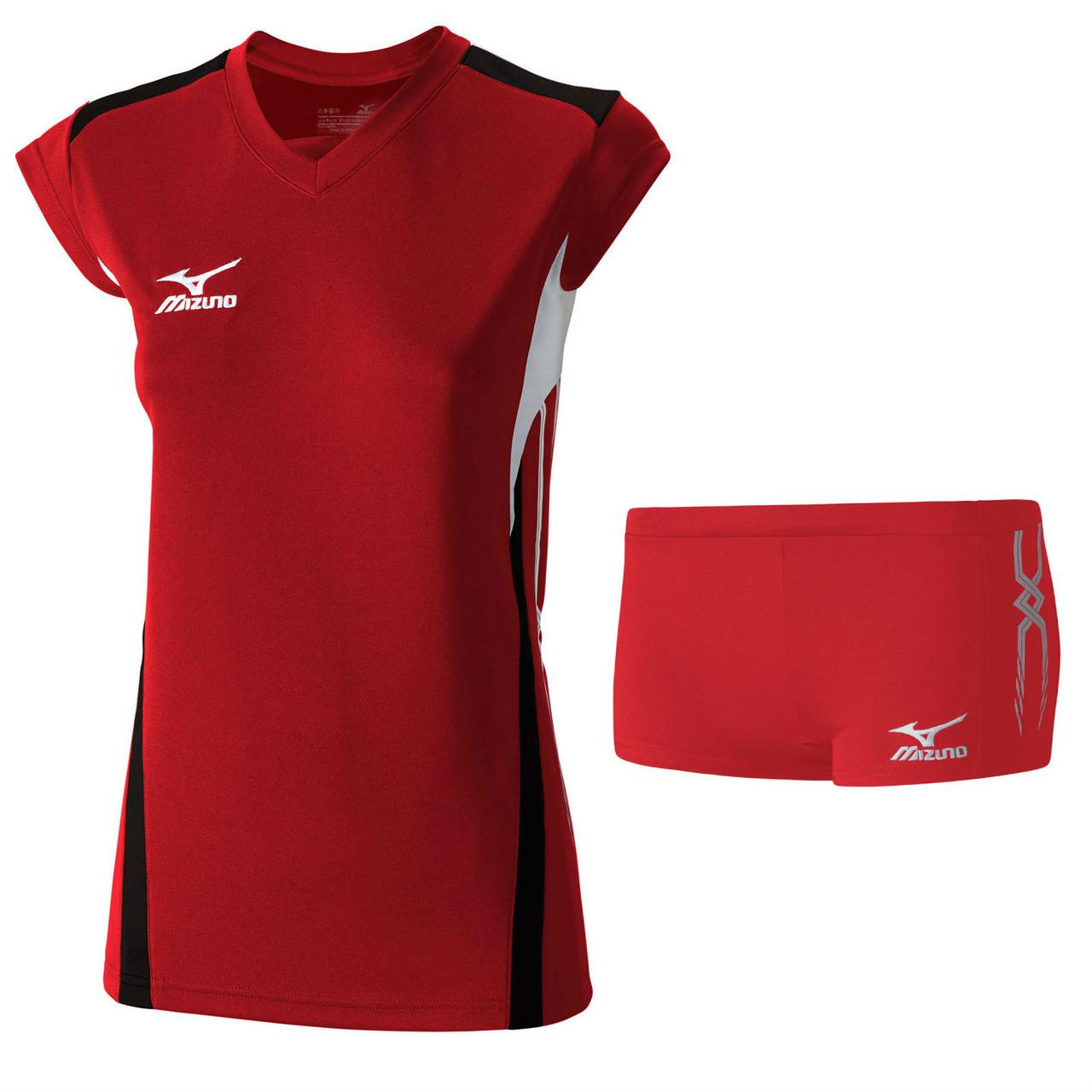 Волейбольная форма Mizuno (футболка W Premium Cap Sleeve V2GA6C20-62+шорты PREMIUM WOMEN'S TIGHTS V2GB6D60-62