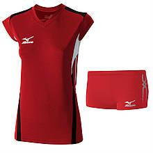 Волейбольна форма Mizuno (футболка W Premium Cap Sleeve V2GA6C20-62+шорти PREMIUM women's TIGHTS V2GB6D60-62