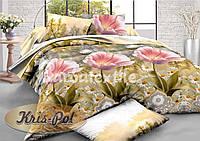 Комплект постельного белья семейный, ранфорс 100% хлопок. Постільна білизна сімейна. (арт.6185)
